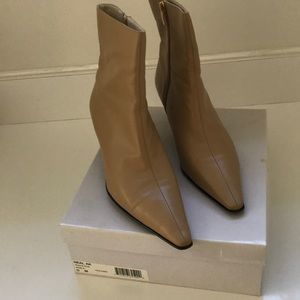 AnneKlein Ankle Boots with Zipper